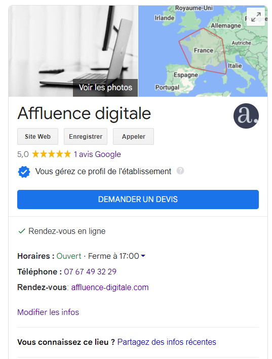 fiche-gmb-référencement-local-google-my-business-affluence-digitale-morteau-maiche-pontarlier-agence-seo-consulting-seo-local1